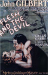 Poster for Flesh and the Devil